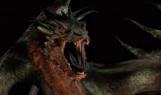 Smaug défend les droits des Dragons chez Stephen Colbert