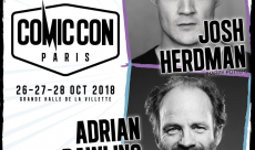 Josh Herdman et Adrian Rawlins, de la saga Harry Potter, seront présents au Comic Con Paris 2018