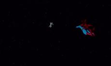Superman sauve la situation dans Gravity