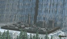 Le Mur de Game of Thrones reconstruit dans Minecraft