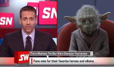 Maître Yoda se fait interviewer par ESPN