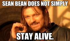 Sean Bean révèle sa mort préférée au cinéma