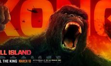 Deux bannières et quatre TV Spots pour Kong : Skull Island