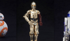 Les droïdes de The Force Awakens s'offrent des maquettes chez Kotobukiya
