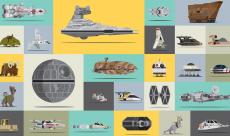 Une petite vidéo classe les engins de Star Wars par ordre de grandeur