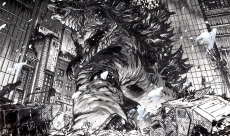 Un Godzilla démentiel illustré par Daniel Warren Johnson (Extremity, Murder Falcon)