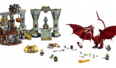 SDCC 2014 : Lego dévoile un set Hobbit centré sur Smaug