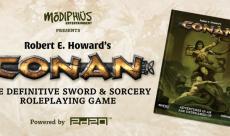 Modiphius lance un kickstarter pour son très fidèle jeu de rôle Conan