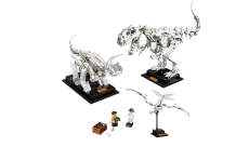 Fans de Jurassic Park, vous allez pouvoir construire des fossiles de dinosaures en Lego