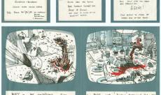 Découvrez les storyboards de Ridley Scott pour le premier Alien