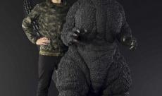 Bandai dévoile une immense statue de Godzilla