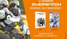 Overwatch se paie un guide officiel et un livre poster chez Mana Books