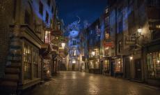 Des images du parc d'attraction Harry Potter en Floride