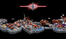 Des fans de Lego recréent une map de StarCraft