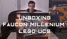 VIDÉO : l'unboxing du Faucon Millenium UCS de LEGO