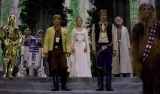 La scène finale de Star Wars IV... sans la musique de John Williams