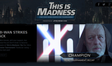Obi-Wan remporte la compétition Star Wars: This is Madness