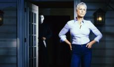 Jamie Lee Curtis fête la fin du tournage d'Halloween en image