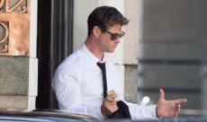 Chris Hemsworth se montre sur les premières photos de tournage de Men In Black 4