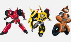 SDCC 2014 : Les premières images du dessin animé Transformers : Robots in Disguise