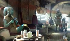 Disneyland dévoile des concept-arts pour ses attractions Star Wars