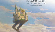 Armel Gaulme signe la jolie affiche des Imaginales 2020
