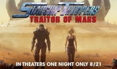 Un trailer pour Traitor of Mars, le nouvel animé Starship Troopers