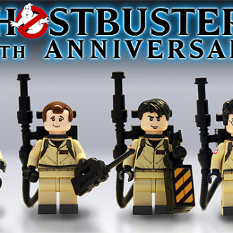 Lego sortira un set officiel Ghostbusters