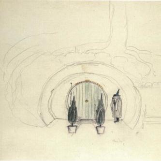 Les illustrations de J.R.R. Tolkien refont surface
