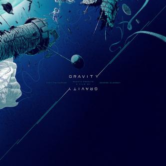 Un poster de Kevin Tong pour Gravity !