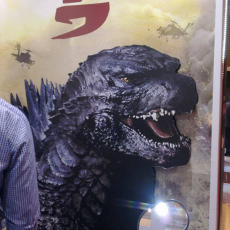 Godzilla : le visage du Kaiju dévoilé sur un poster