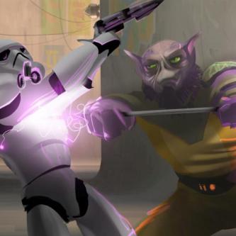 Star Wars Rebels présente Zeb