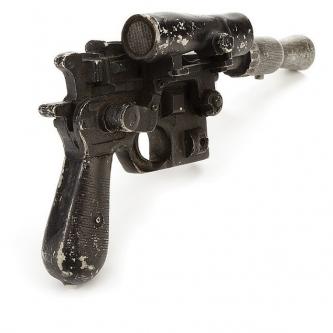 Le blaster original de Han Solo en vente aux enchères