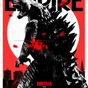 Une couverture d'Empire pour Godzilla
