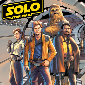 Solo s'offre un maximum de romans et un nouveau comic book chez Marvel