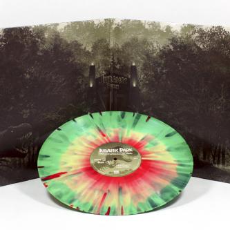 Des vinyles de la B.O de Jurassic Park par Mondo