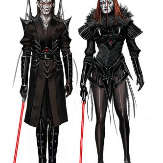 Du gameplay et des concept-arts pour le jeu vidéo Dark Maul annulé