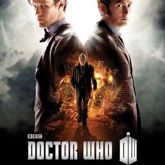 Doctor Who : Un premier poster pour l'épisode des 50 ans