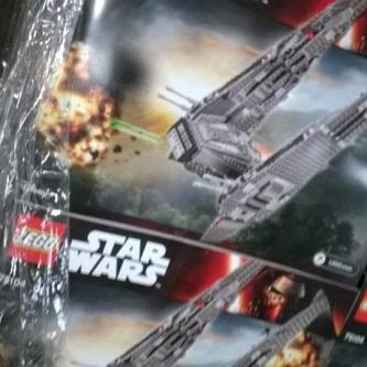 Un aperçu du premier set Lego consacré à Star Wars : The Force Awakens ?