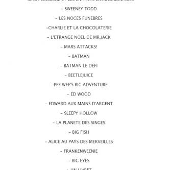 Tim Burton s'offre trois jolis coffrets à l'approche des fêtes