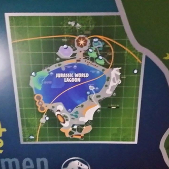 La carte de Jurassic World fuitée ?