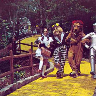 Visitez l'incroyable monde abandonné d'Oz