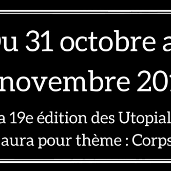 Les Utopiales dévoilent la date et le thème de leur édition 2018