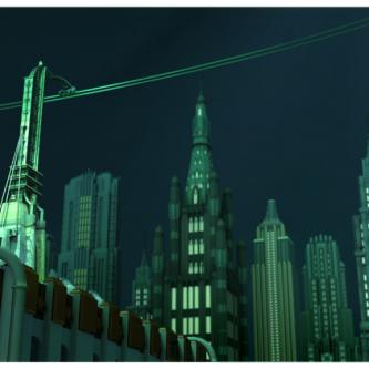 Des concept arts pour un film BioShock annulé