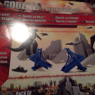 Le design d'un autre Kaiju de Godzilla