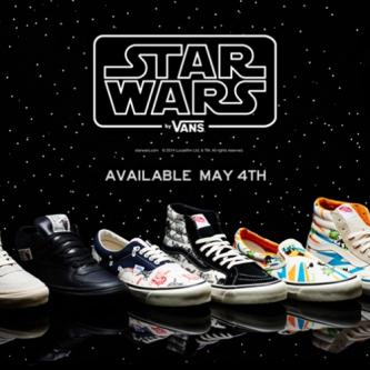 Vans dévoile une collection de sneakers Star Wars