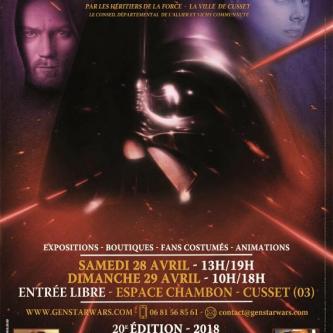 Générations Star Wars annonce la venue de Gerald Home et dévoile son affiche