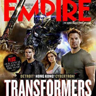 Transformers 4 en couverture d'Empire