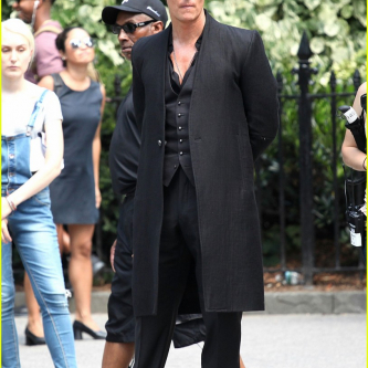 The Dark Tower : des images de tournage avec Matthew McConaughey
