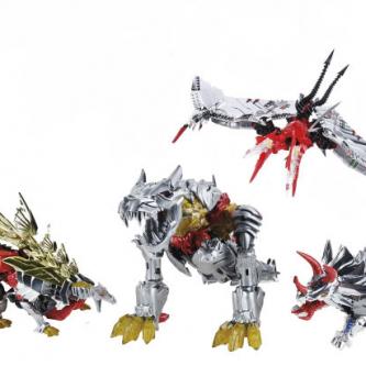 Hasbro annonce un pack de Dinobots classiques pour San Diego